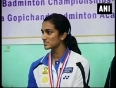 pv sindhu video