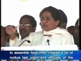 mayawati video