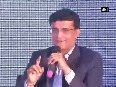 saurav ganguly video