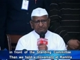 anna hazare on lokpal video
