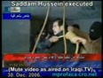 saddam hussain video