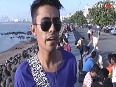 mumbais marine drive video