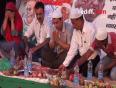Iftar with Aamir at Ramleela maidaan
