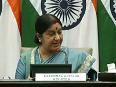 sushma swaraj video