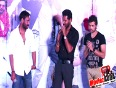 ajay and sonakshi at song launch of movie action jackson