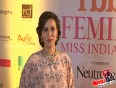 neha dhupia @ miss india 2015 pageant's red carpet