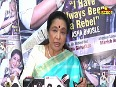 asha bhosles video