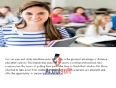 mba distance learning video