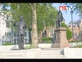 mahatma gandhi statue video