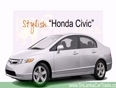 honda cars video