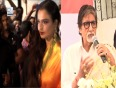 Rekha wears sindoor for Big B: Puneet Issar's wife