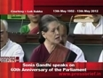 centre in parliament video