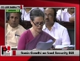 food security bill in parliament video