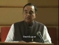 dr subramanian swamy video