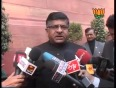 ravi shanker prasad video