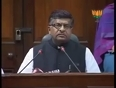 bjp ravi shankar prasad video