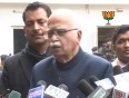 bharatiya janata party veteran l k advani video