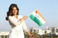 Miss India Universe 2014 Noyonita Lodh celebrates 67th Republic Day of India
