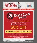 50- OFF on JustEat-in-