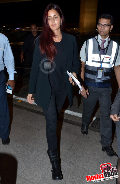 Katrina Kaif and Priyanka Chopra snapped at Mumbai International Airport