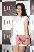 Ameesha Patel during the launch of Dicitex Furnishing tie up with Warner Bros in Mumbai