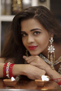 Model Turned South Actress Parina Mirza In A Special Diwali Photo Shoot