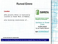 Runwal Eirene Floor Plans Call 09999536147 Thane Mumbai