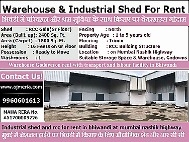 Warehouse Godown on rent with transport and labour facility