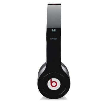 Black dre beats solo hd headphones