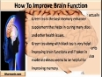 What Memory Enhancer Supplement Should I Take To Improve Brain Function