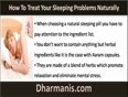 Use Natural Sleeping Pills To Treat Your Sleeping Problems Naturally