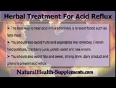 Safe Herbal Treatment For Acid Reflux Effectively