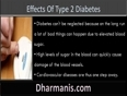 What Are The Short Term And Long Term Effects Of Type 2 Diabetes
