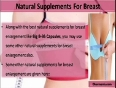 What Are The Best Natural Supplements For Breast Enlargement