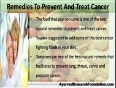 Natural Remedies To Prevent And Treat Cancer
