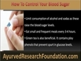 How Do I Control My Blood Sugar With Natural Remedies