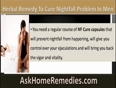 NF Cure Capsule The Most Trusted Herbal Product To Cure Nightfall Problem In Men