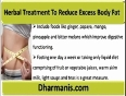 Use Obesity Herbal Treatment To Reduce Excess Body Fat
