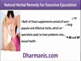 Spermatorrhea, Natural Herbal Remedy For Excessive Ejaculation
