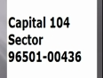 Capital sector 104 gurgaon 9650100436 Capital Newly launcheD
