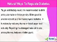 Natural Ways To Regulate Diabetes In A Cost-Effective Manner