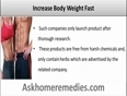 Is There Any Natural Way to Increase Body Weight Fast