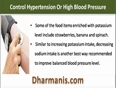Control Hypertension Or High Blood Pressure Without Side Effects