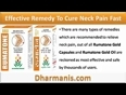 Effective Remedy To Cure Neck Pain Fast And Safely