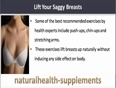 Is There Any Natural Remedy To Lift Your Saggy Breasts