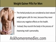 Guide To Best Natural Weight Gainer Pills For Men