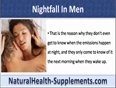 What Does One Mean By Nightfall or Wet Dreams In Men