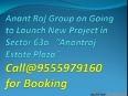 Commercial Retail Shops 9555979160 Anant Raj Estate Plaza GGN