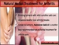 What Is A Good Natural Herbal Treatment For Arthritis Pain And Inflammation