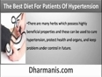 What Should Be The Best Diet Plan For Patients Of Hypertension